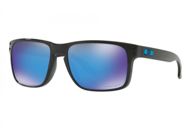 Oakley Holbrook Sonnenbrille Schwarz - Prizm Sapphire OO9102-F555