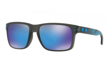 lunettes oakley holbrook noir bleu prizm sapphire oo9102 f255