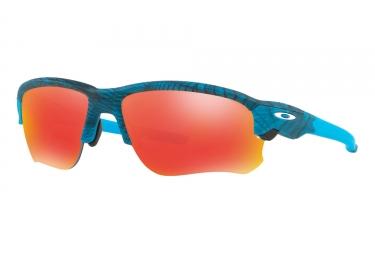 lunettes oakley flak draft aero grid bleu ruby iridium oo9364 1067