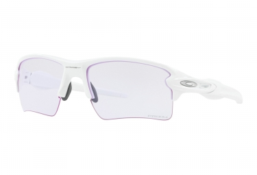 Lunettes oakley flak 2 0 xl blanc prizm low light oo9188 8859