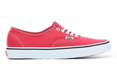 Chaussures VANS Authentic Rouges/ Blanches