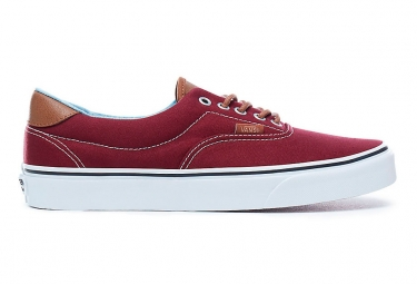 Chaussures VANS ERA 59 Rouges/ Blanches