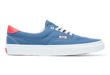 Chaussures vans era 59 bleues rouges 41