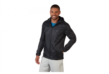 Oakley Link Windbreaker Jacket Black