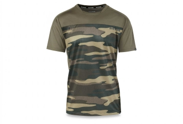 Maillot Manches Courtes Dakine Charger Field Camo