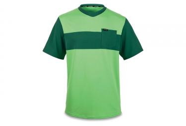 maillot manches courtes dakine vectra summer vert l
