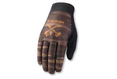 Gants dakine insight field camo marron m