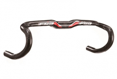 cintre route fsa k wing carbon di2 noir rouge 380