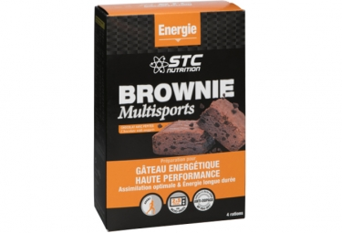 STC Nutrition - Brownie Multisports - 400 g - Chocolate