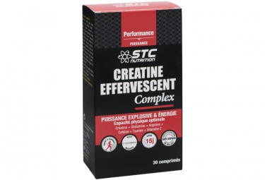 STC Nutrition - Creatine effervescent complex - 2 tubes of 15 tablets