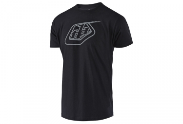 T-Shirt Troy Lee Designs Logo Noir Gris