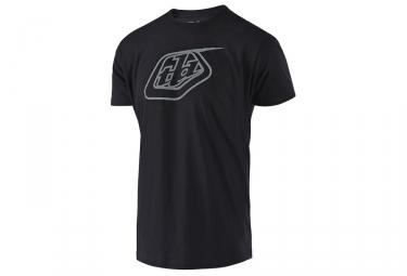 T-Shirt Troy Lee Designs Logo Noir Gris