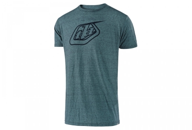 T-Shirt Troy Lee Designs Logo Bleu