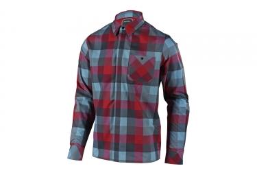 chemise troy lee design grind rouge s