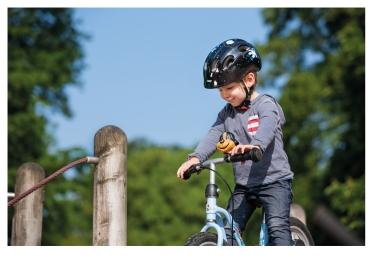Casque vélo Enfant Abus Smiley 2.0 Black Space Noir