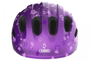 Casque vélo Enfant Abus Smiley 2.0 Purple Star