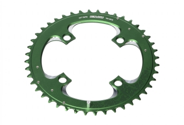 plateau vtt truvativ 3x9 vitesses vert 44