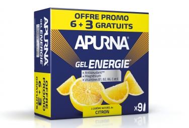 Gel energie apurna promo 6 3 2h d efforts citron 35g