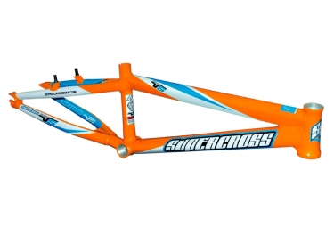 Cadre bmx supercross envy v5 pro plus orange 2018
