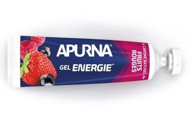 Gel Energetique APURNA moins de 2h d'efforts Fruit Rouge 35g