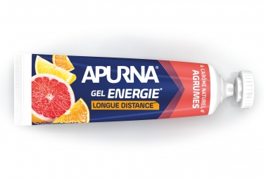 Gel Energetique APURNA Longue Distance Agrumes 35g