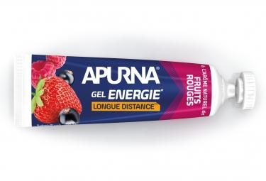 Gel Energetique APURNA Longue Distance Fruit Rouge 35g