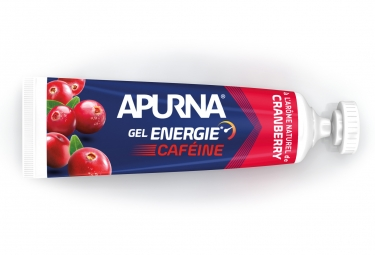 APURNA Gel Energy Passage Difficile Booster Cafeine Cranberry 35g