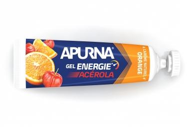 Gel Energetique APURNA Passage Difficile Booster Acerola Orange 35g