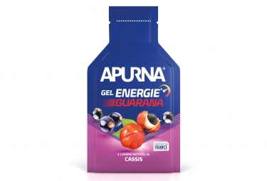 Gel energie apurna passage difficile booster guarana cassis 35g
