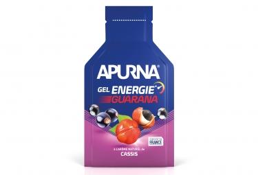 Gel Energetique APURNA Passage Difficile Booster Guarana Cassis 35g