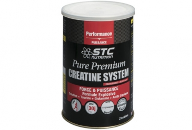 STC Nutrition - Pure Premium Creatine System - Jar of 500 g - Red Fruits