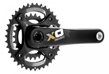 Truvativ X0 Crankset BB30 2.2 10 Speed 42/28T Gold
