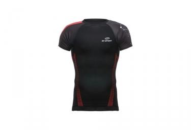 bv sport maillot manches courtes de compression rtech noir s