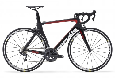 Cervélo S5 Road Bike Shimano Ultegra 8000 11S 2018 Black / Red