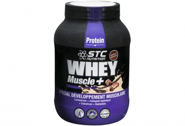 STC Nutrition - Whey Muscle + Protein - Frasco de 750 g - Chocolate