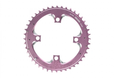 Plateau vtt truvativ 3x9 vitesses rose 44