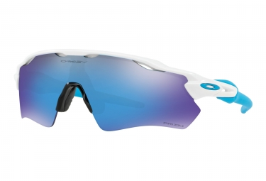 Oakley Radar EV Path Glasses White - Prizm Sapphir