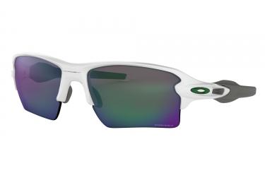 lunettes oackley flak 2 0 xl blanc prizm jade oo9188 9259