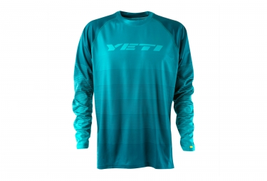 Maillot manches longues yeti alder turquoise s
