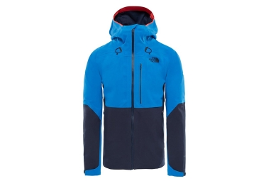 veste impermeable the north face apex flex gtx 2 0 bleu m