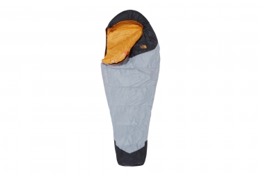 The North Face Gold Kazoo Long Women's Sleeping Bag Grey Orange