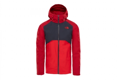 veste impermeable the north face stratos rouge l