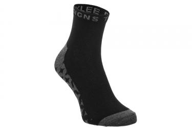 Paire de chaussettes troy lee design starburst quarter noir lot de 3 39 42