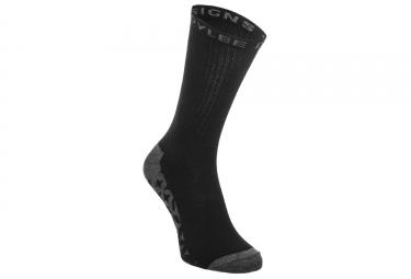 Paire de chaussettes troy lee design starburst crew noir lot de 3 39 42
