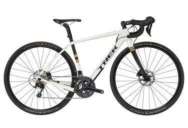 gravel bike femme trek checkpoint sl 5 wsd shimano 105 11v 2019 blanc 49 cm 158 164