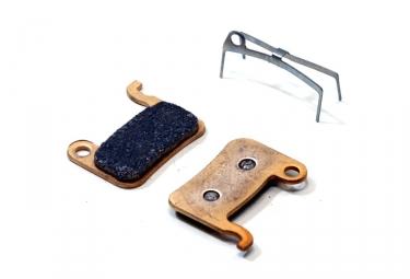 paire de plaquettes brake authority pour shimano xtr saint deore lx xt avant 2007 et