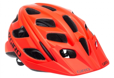 Casque giro hex orange noir l 59 63 cm