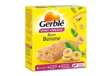 Barre Énergétique Gerblé Sport Banane (Boite de 6)