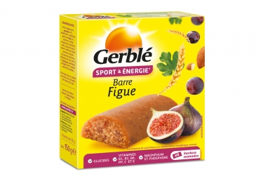 Gerbl Energy Barre Sport Fig (paquete de 6)