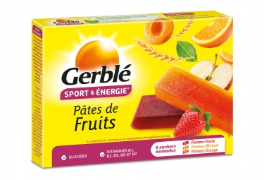 Gerbl Energy Fruit Jelly (paquete de 6)